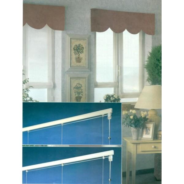 Binario a pacchetto a vetro zefiro vendita stoffe online for Tende a pacchetto a vetro