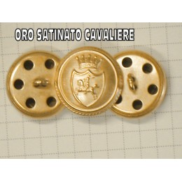 223 BOTTONE SATINATO ORO CAVALIER