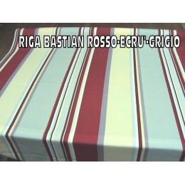 RIGA BASTIAN ROSSO*ECRU'GRIGIO