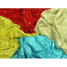 Paillettes incollate vendita stoffe online for Vendita tessuti arredamento on line