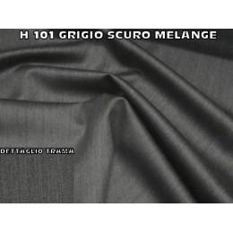 H101 RASO LANA MELANGE GRIGIO SCURO