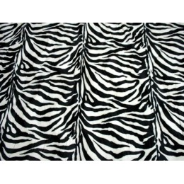 PELLICCIA ANIMAL DIS.13 ZEBRA