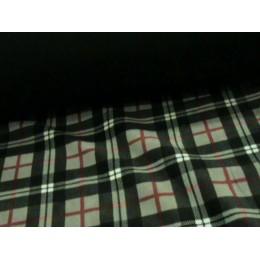 PILE DOUBLE 10580/069 SCACCO GRIGIO/UNITO NERO
